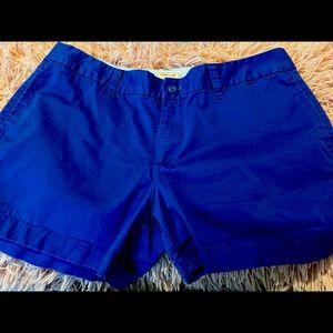 blue Khakis by Gap shorts